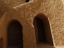 Zrekonstruovaný klášter svatého Antonína v Egyptě