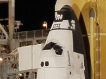Raketoplán Endeavour je připravený ke startu (8. února 2010)