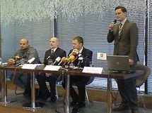 Tisková konference ČEZ k práci komand Útvar netechnických ztrát.