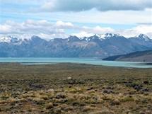 Lago Viedma a hřeben Patagonských And