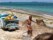 San Andrés, nezkažený ostrov v Karibiku