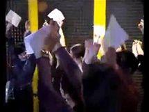 Snímek z uniklého propagačního videoklipu obchodního řetězce Auchan