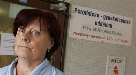 Zdeňce Kopečkové nechal chirurg ivančické nemocnice v těle 28 centimetrů dlouhou špachtli