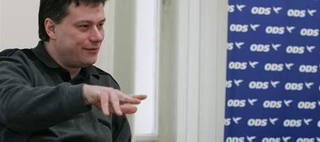 Předseda brněnské ODS Pavel Blažek