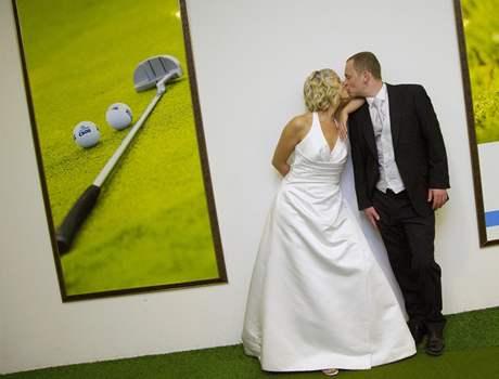 Svatba na golfu - GC Hostivař.