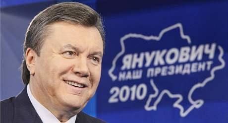 Vítěz nedělních prezidentských voleb Viktor Janukovyč