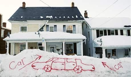 Sníh zasypal už 49 z 50 států USA. Nadílka ve státě Pensylvania