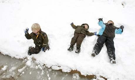 Sníh zasypal už 49 z 50 států USA. Nadílka ve státě Texas