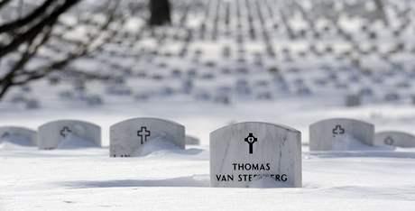 Sníh zasypal už 49 z 50 států USA. Nadílka ve státě Virginia