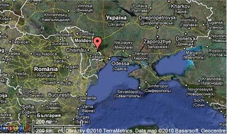 Podněstří, metropole Tiraspol