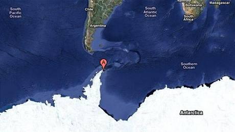ostrov Jamese Rosse, Antarktida