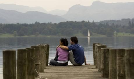 Kraj jezer v hrabství Cumbria.