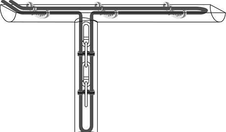 Schema uložení kabelů