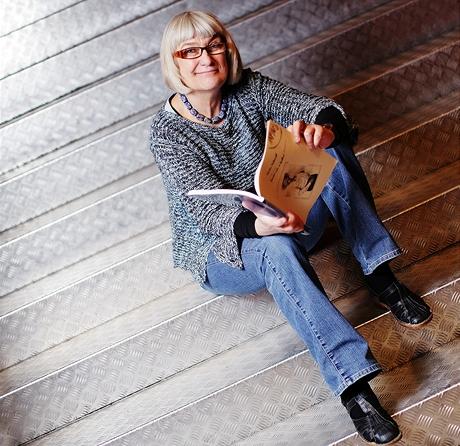 Irena Fuchsová - nápovědka v pražském Činoherním klubu a autorka čtyřiadvaceti vydaných knih