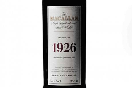 Whisky Macallan Fine and Rare