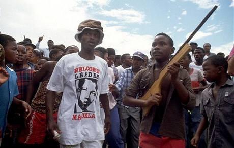 Mandelovi obdivovatelé v Jihoafrické republice