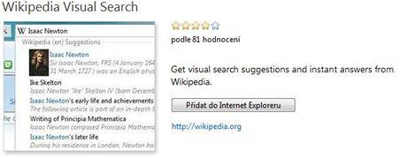 Hledání ve Wikipedii