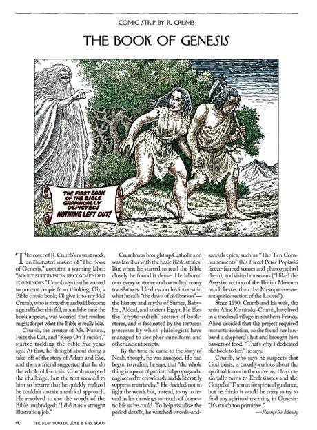 Robert Crumb: První kniha Genesis