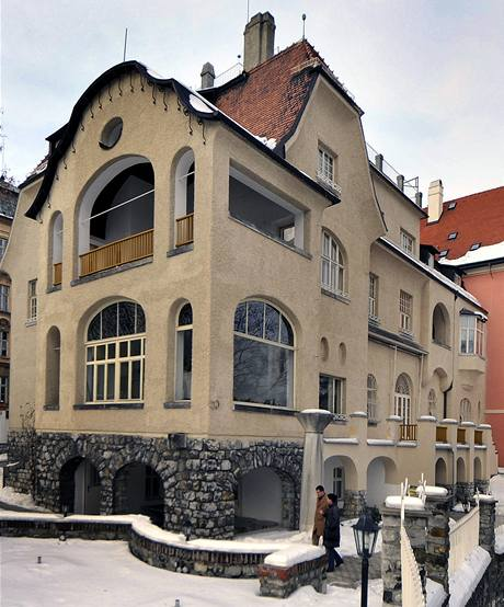Vila Primavesi v Olomouci