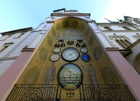 Olomoucký orloj navrhl malíř Karel Svolinský