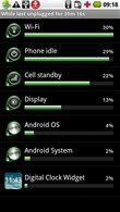 Motorola Milestone - obrázky systému