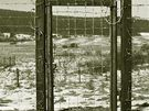 Železná opona na záběru z archivu Úřadu pro studium totalitních režimů.