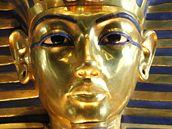 Symbolem Tutanchamona se stala jeho zlatá maska, vystavená v Berlíně