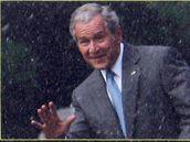 Ještě vám nechybím? ptá se Bush z billboardu v Minnesotě (11. února 2009)