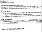 Problémy Toyoty Auris se sloupkem řízení