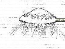 Obrázek UFO nad Watfordem v Hertfordshire