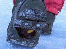 Gumové nesmeky na zimních botách