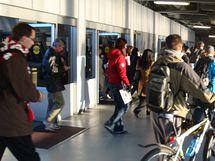 SeaBus - výstup cestujcích