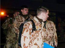 Odlet českých vojáků Provinčního rekonstrukčního týmu (PRT) do afghánského Lógaru. (15. února 2010)