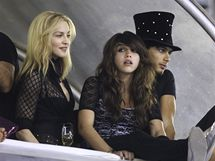 Madonna s dcerou Lourdes Maria a Jesusem Luzem