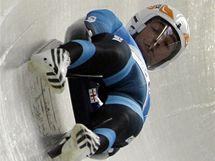 Nodar Kumarita�vili na olympijsk� dr�ze ve Whistleru.