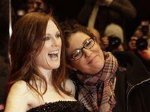 Berlinale 2010 - Julianne Mooreová a režisérka Cholodenková