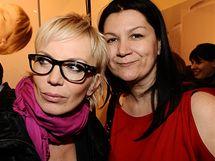 Kateřina Kornová a Taťána Kovaříková