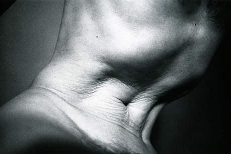 Zdeněk Lhoták: z cyklu Autoportrét BW - 1989-2001, No: 051/1996