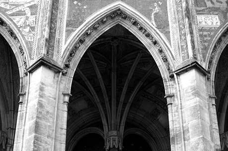 Praha, katedrála sv. Víta, klena jižní předsíně