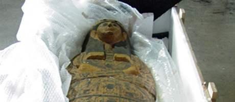 USA souhlasí s návratem 3000 let starého sarkofágu zpět do Egypta