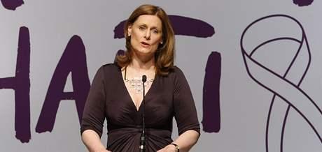 Manželka britského premiéra Sarah Brownová