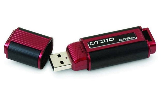 USB flash disk DataTraveler 310 nabízí 256 GB úložného prostoru