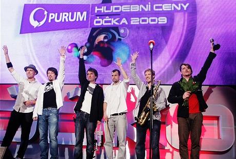 Hudební ceny Óčka 2009 - kapela roku Chinaski