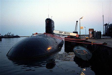 Ponorka polského námořnictva v Gdyni