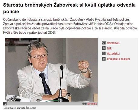 Rubrika brno.iDNES.cz přináší informace jako první.