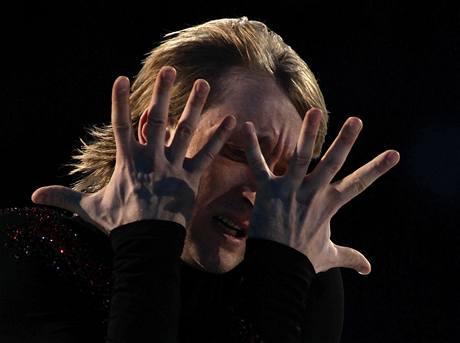 Fenomenální krasobruslař Jevgenij Plujščenko má Prahu rád. Ve čtvrtek vystoupí v exhibici Ice Olympic Tour
