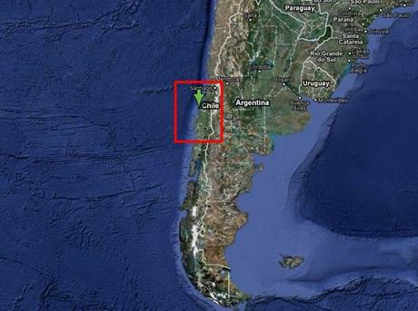 Mapa: Chile