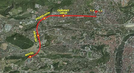 Prodloužení metra linky A do Motola