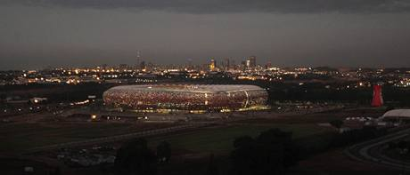 Soccer City Stadium v Johannesburgu