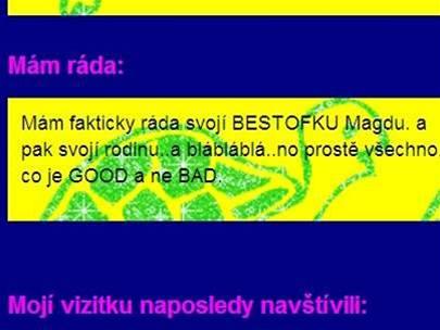 Opravdu má autorka článku ráda češtinu?
